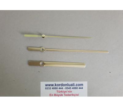 Akrep 10 cm Yelkovan 14,5 cm Metal Gold 100 Adet
